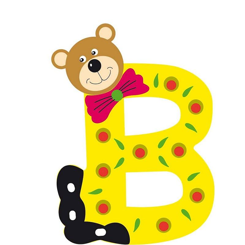 lettre alphabet bois pour bébé