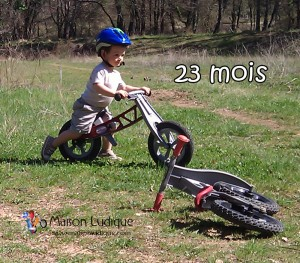 vélo d'apprentissage redtoys