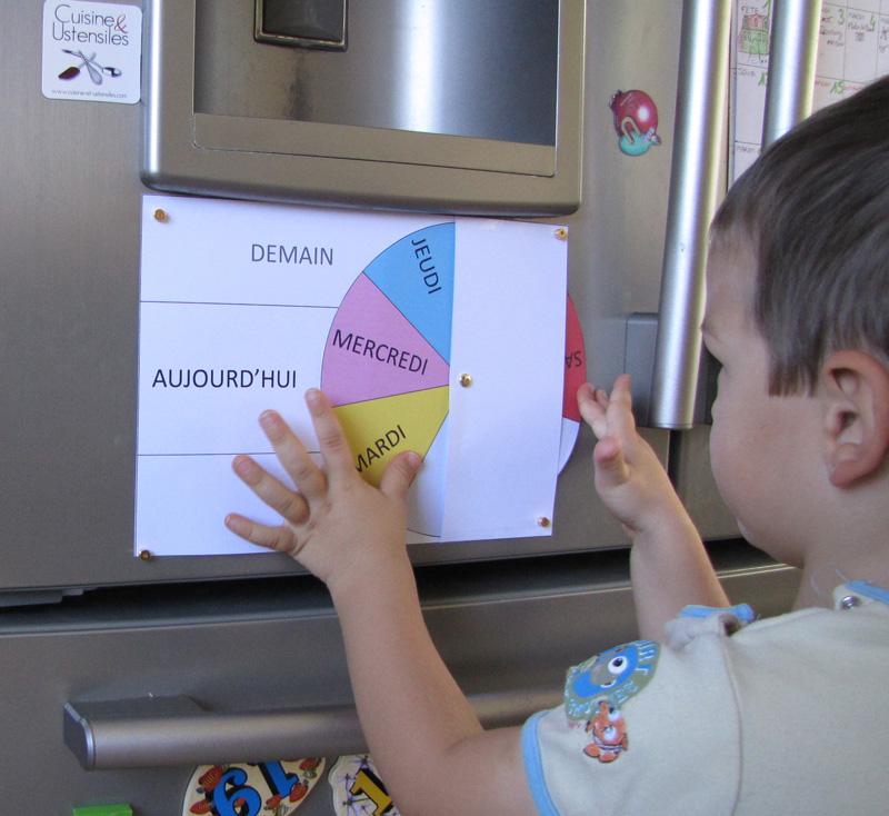 Fabriquer un semainier ludique pour les enfants | Le blog de Maison ...