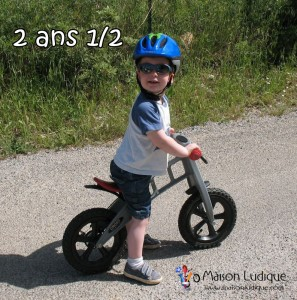 velo apprentissage enfant