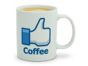 mug facebook j aime café