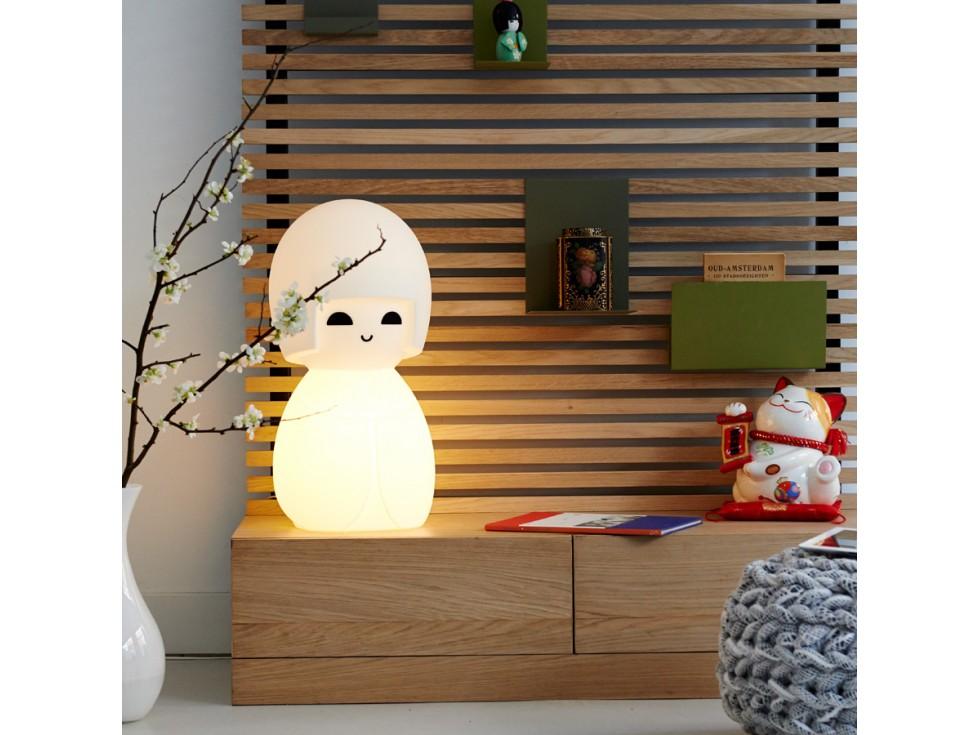 lampe japonaise kokeshi papa maria