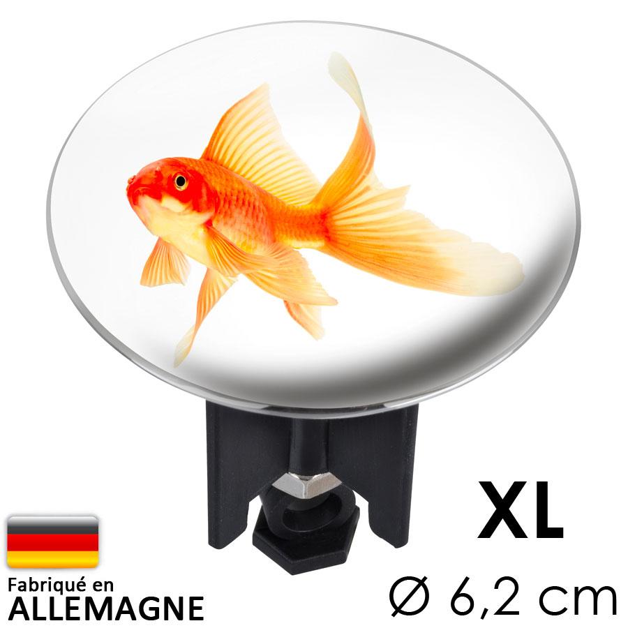 bouchon clapet lavabo pluggy XL poisson