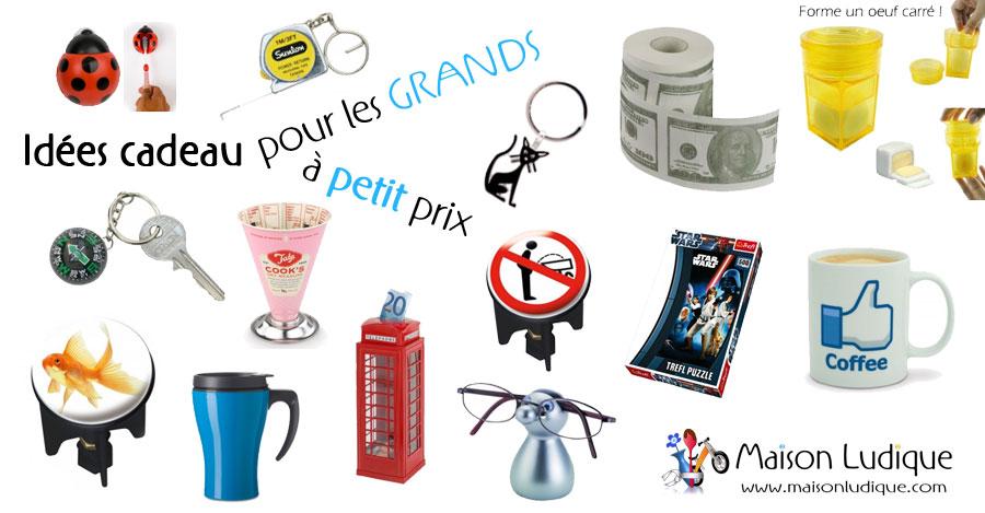 Id es cadeaux pour les grands petit prix le blog de - Petit cadeau sympa pour noel ...