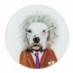 horloge chien einstein