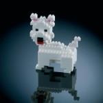 cadeau mini briques chien