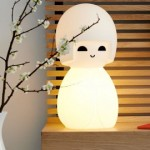 lampe kokeshi japonaise