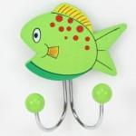 portemanteau poisson vert