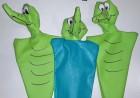 marionettes crocodiles