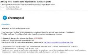 email phishing chronopost